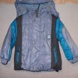 Куртка 2-й синтепон подкладка-флис р.98-110.