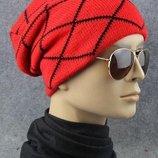 Двойная шапка «Бини» унисекс AL7933