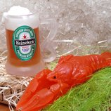 Мыло для мужчин Бокал пива, Рак, Бутылка пива