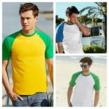 Мужская футболка двухцветная.Размеры от S до XXL