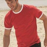 Мужская футболка с манжетами.Размеры от S до XXL