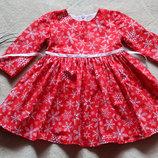 Платье детское новогоднее
