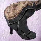 Продам женские замшевые сапоги, 38 размер на стройную ножку