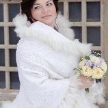 Эксклюзивные свадебные палантины, шали