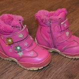 Зимние сапоги, ботинки для девочки, 23 размер
