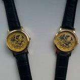 Годинник чоловічий Winner часы мужские скелетон