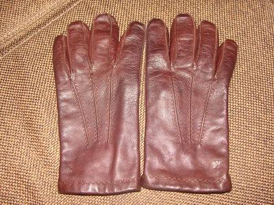 мужские перчатки Calvin Klein оригинал кожа утеплитель L