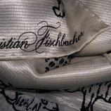 Эксклюзивный шелковый палантин,шарф от Christian Fischbacher