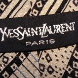 Винтажный номерной галстук от Yves Saint Laurent.Оригинал