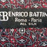 Стильный шелковый галстук Benrico Battini