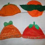 Шапка к карнавальному колстюму тыковка на Хэллоуин