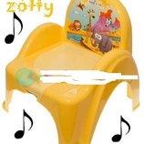 Детский музыкальный горшок Tega baby В Цветах. Польша.