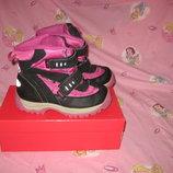 Сапоги ботинки термо Will-Tex Италия 32 размер по стельке 20,5 см.Кожаные, Зимние . В идеальном сост
