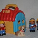 Пожарная станция гараж ELC Mothercare Мазекеа