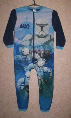 флисовый человечек ромпер слип пижама 5-6 лет 110-116 см плечи 32 рукав 36-45 ширина 37 до памперса