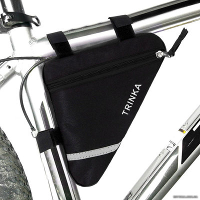 Велосумка под раму треугольная