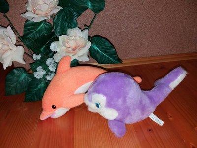 Мягкие игрушки дельфинчики