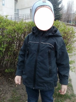 Курточка демисезонная H&M 92 98 р термо ветровка