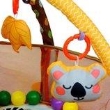Детский развивающий коврик, манеж шары 3 в 1. Польша.