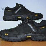 Мужские кожаные кроссовки Salomon