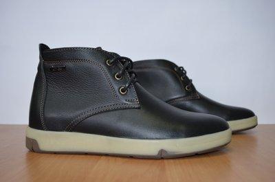 мужские демисезонные ботинки на байке.Натуральная кожа
