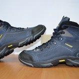 Мужские зимние ботинки Salomon.Натуральная кожа.