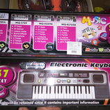 Синтезатор пианино орган от сети 37 клавиш MQ827USB