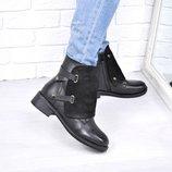 Ботинки женские зимние Winter черные