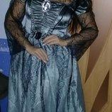 Карнавальное платье на Хеллоуин взрослое.