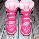 Зимние сапоги Hello Kitty для девочки 21 см