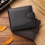 Мужской кошелёк портмоне Практичный Zip , натуральная кожа