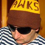 Спортивная фирменная шапочка шапка Австралия .Hawks.56-58