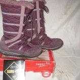 Сапоги Superfit Gore-Tex 34 размер,по стельке 22 см. Кожаные,зимние,внутри утеплитель -натуральная ш