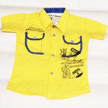 Рубашка мальчику Стильная 2-3 г Детские рубашки, нарядная одежда