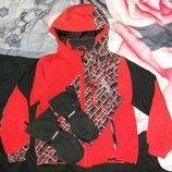 Зимняя куртка Spyder, 5 рукавицы и флиска