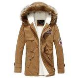 Мужская зимняя куртка парка Dale 3 цвета AL7828