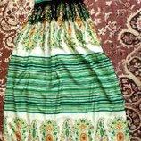 Бомбезное платье в пол,для высоких 42-48р.Всего 1