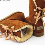 сапоги женские Хит дутики зимние теплые изабель угги ботинки термо сникерс танкетке