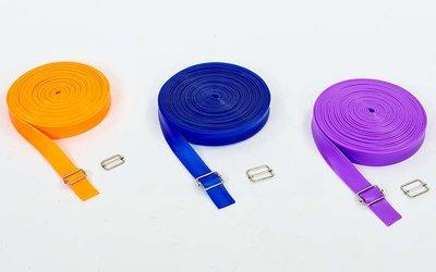 Жгут эластичный спортивный лента жгут 3936-10 длина 10м, толщина 4,5мм