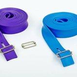 Жгут эластичный спортивный лента жгут 3936-2,5 длина 2,5м, толщина 4,5мм