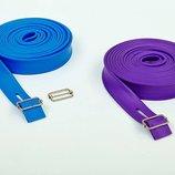 Жгут эластичный спортивный лента жгут 3936-5 длина 5м, толщина 4,5мм