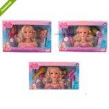 Кукла для причесок 789-3-4-5 голова куклы