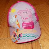 Фирменная кепка Disney для девочки 3-5 лет. 98-110 см