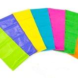 Лента эластичная для фитнеса и йоги 6256-1,5 7 цветов, длина 1,5м