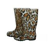 Сапоги женские резиновые Леопард