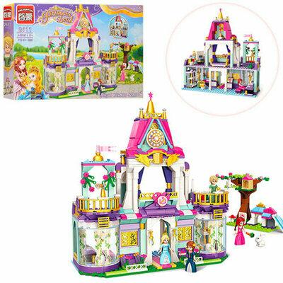 Конструктор Brick Замок принцессы 628 деталей 2611