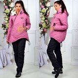 Теплющий зимний костюм на меху полностью, р.42-44, 46-48, 50-52, 54-56 снизили цену