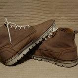 Очень легкие фирменные кожаные ботинки Weinbrenner by Bata Швейцария. 43 р