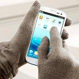 Отличные вязаные перчатки от тсм Tchibo размер универсальный