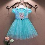 платье Холодное сердце Эльза Анна детское новогодний Frozen карнавальный костюм